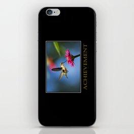 Inspirational Achievement iPhone Skin