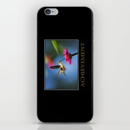 Inspirational Achievement iPhone Skin