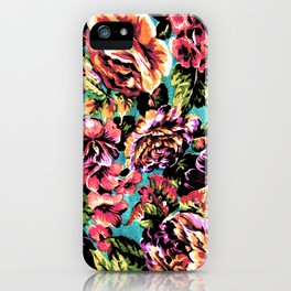 Psychedelic Flowerz iPhone Case