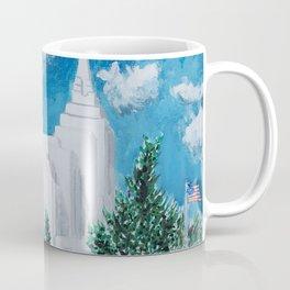 Rexburg Idaho LDS Temple Coffee Mug