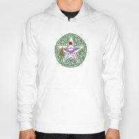 pentagram Hoodies featuring Lover's Pentagram by Groomporter
