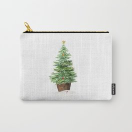 Trimming The Tree Carry-All Pouch