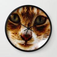 milk Wall Clocks featuring Milk? by Jessica Jimerson