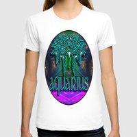 zodiac T-shirts featuring Aquarius Zodiac by CAP Artwork & Design