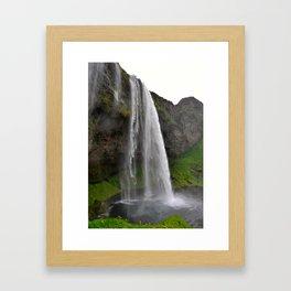 Seljalandsfoss Waterfall Framed Art Print