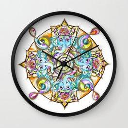 GANESH MANDALA Wall Clock