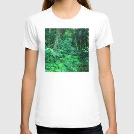 Trekking Through A Rainforest Jungle in Costa Rica T-shirt