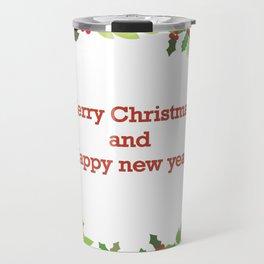 christmass and new year Travel Mug