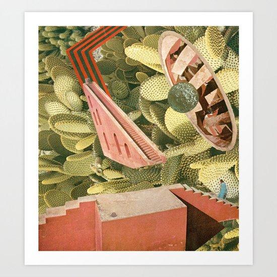 goofbutton collaboration #2a Art Print
