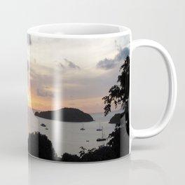 Watercolor Sunset, St John 12, USVI Coffee Mug