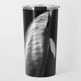 Black and white dolphins Travel Mug