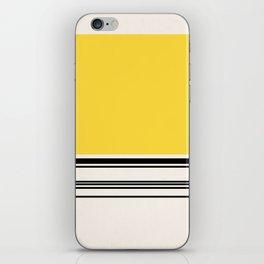 Code Yellow iPhone Skin