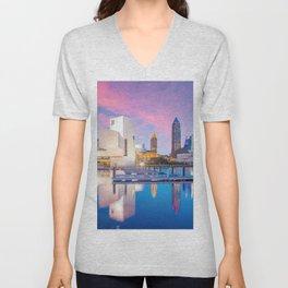Cleveland - USA Unisex V-Neck