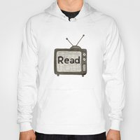 read Hoodies featuring read by jo bozarth