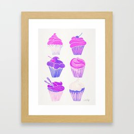 Cupcake Collection – Unicorn Palette Framed Art Print