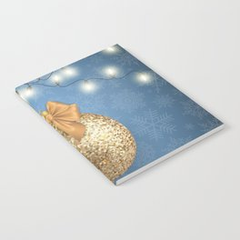 Christmas background Notebook