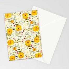 SUNSHINE FLORAL Stationery Cards