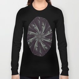 Out of the Darkness Fractal Bloom Long Sleeve T-shirt