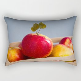 Box of Apples Rectangular Pillow