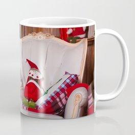 Holiday Christmas Stuffed Animal Teddy Bear Coffee Mug