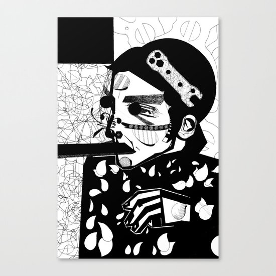 SELF-ABANDONMENT Canvas Print