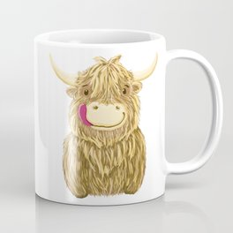 Wee Hamish Highland Cow Coffee Mug