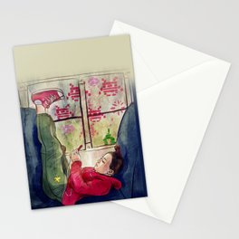 Girls & Video Games Stationery Cards