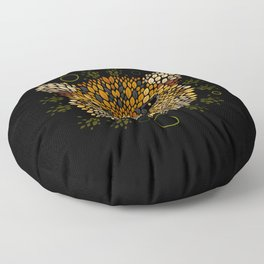 Cheetah Face Floor Pillow