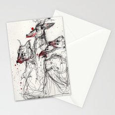 Frothing Stationery Cards
