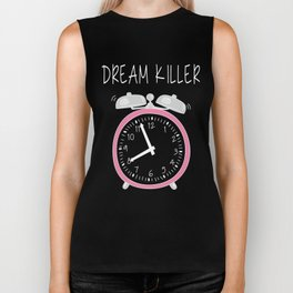 Funny dream killer Biker Tank