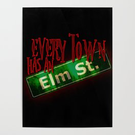 Every Town Elm Street Poster
