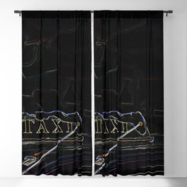 Taxi Blackout Curtain