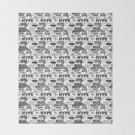 DON'T BELIEVE THE HYPE Throw Blanket
