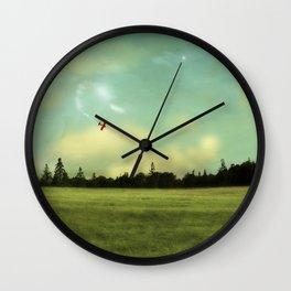 Flight of Dreams Wall Clock