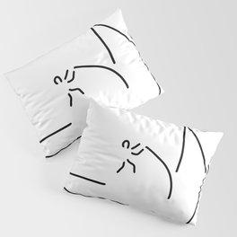 pole vault athletics Pillow Sham