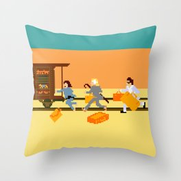 How Can A Train Be Lost? Throw Pillow