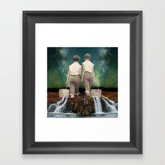 Water of love Framed Art Print