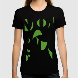 Abstract the Green T-shirt