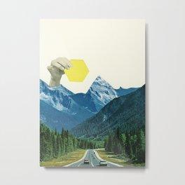 Moving Mountains Metal Print