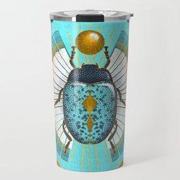 Egyptian Scarab Travel Mug