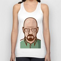 walter white Tank Tops featuring Walter White by Sherif Adel