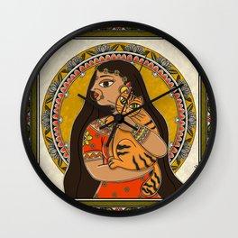 Tiger Queen Wall Clock
