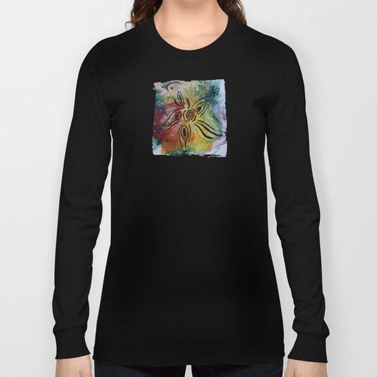 Bird Flower - JUSTART © Long Sleeve T-shirt