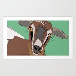 She-Goat / Chilleria Palmera Art Print