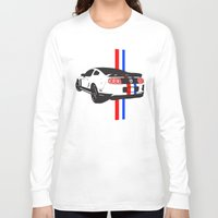 mustang Long Sleeve T-shirts featuring 2013 Mustang by Amador