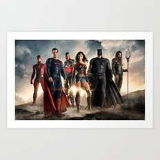 Justice League Art Print