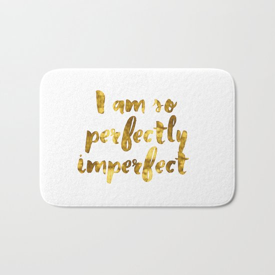 Perfectly Imperfect Bath Mat