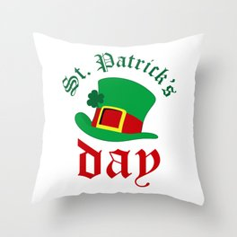 St.Patrick's day Throw Pillow