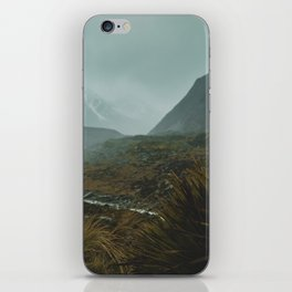 Hiking Around the Mountains & Valleys of New Zealand iPhone Skin
