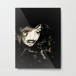 Black Metal - Dark intentions Metal Print